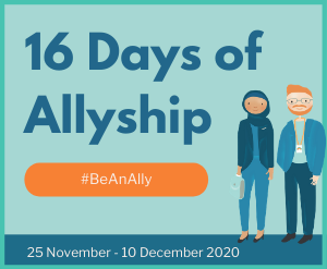 16 Days of Allyship